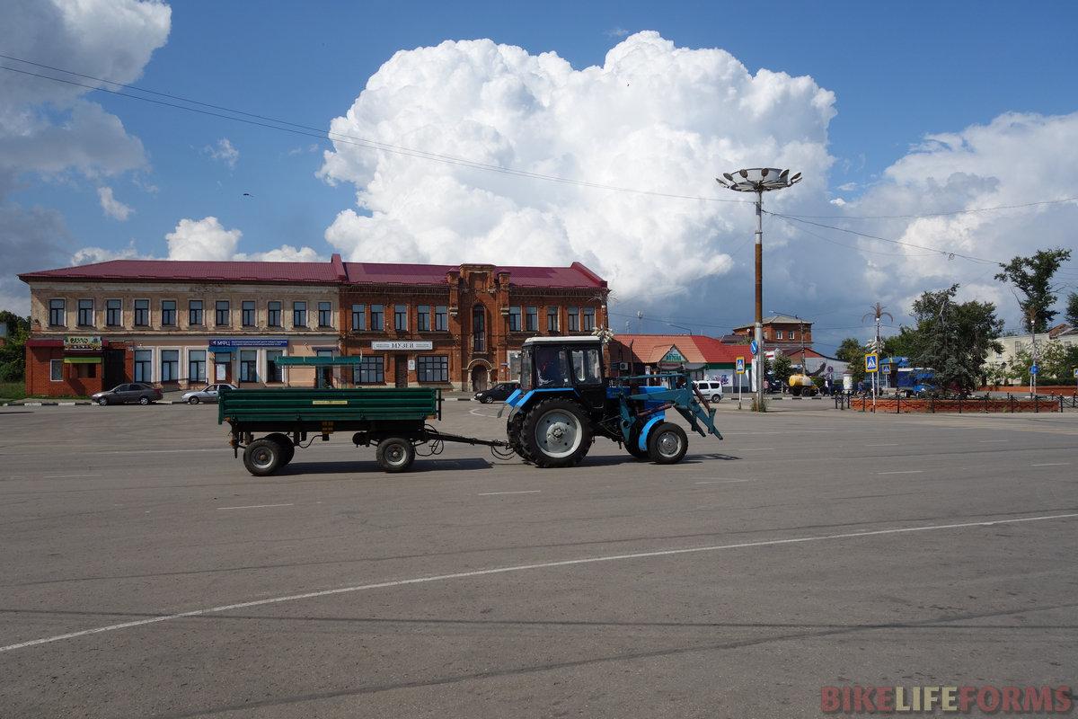 Красная площадь Ефремова