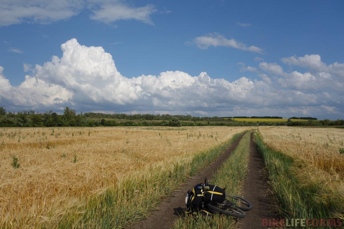 вдоль речки Семенёк снова пересекаю Тульско-Липецкую границу