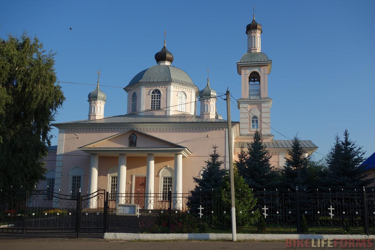 храм ПГТ Сосновка