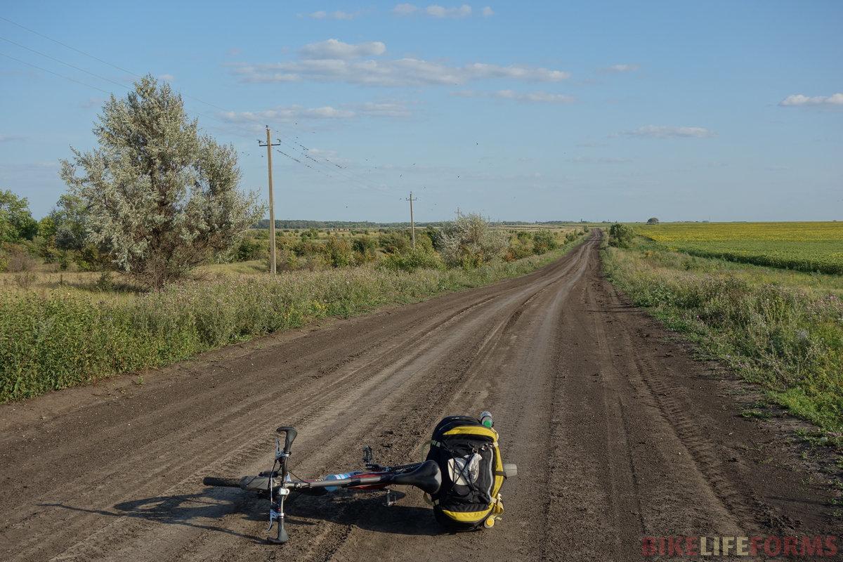 подгоняемый ветром, ехал 20-23 км/ч. Места неприметные, но тут хорошо именно лосить!