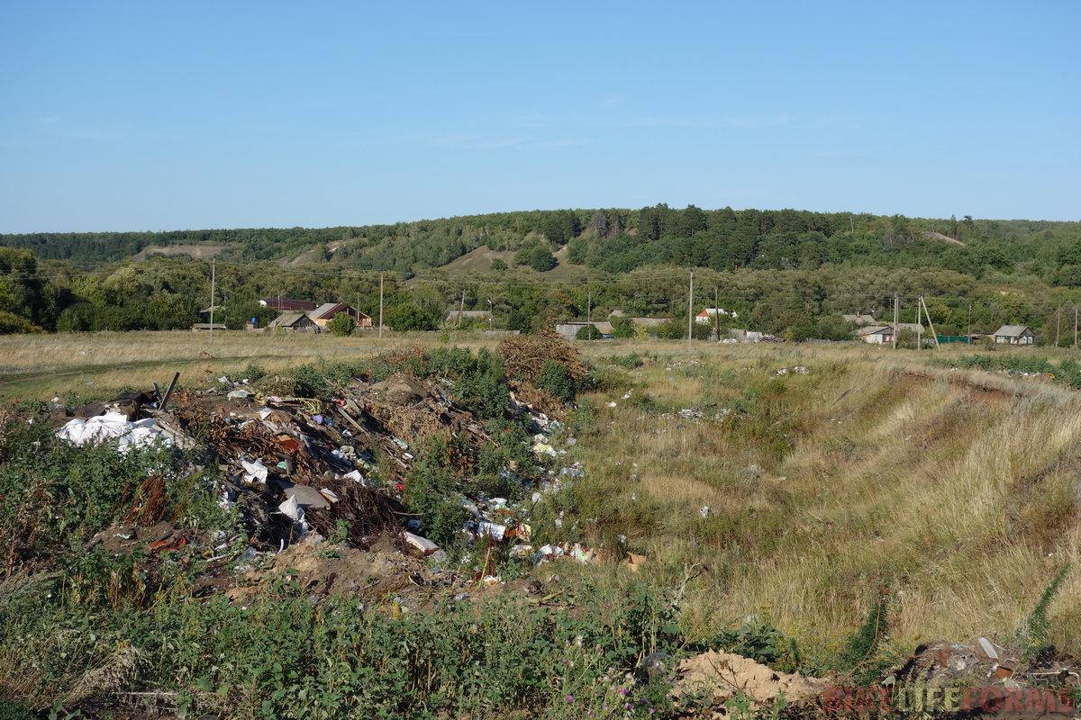 увы, Поволжье - проблемный регион в плане мусора...