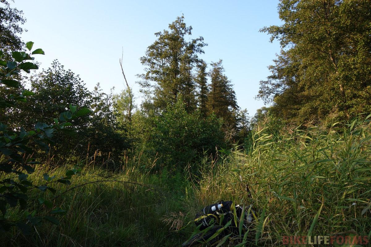перелаз Сокур-Гремячка вернул меня в суровую правду жизни, сначала по уши окунув в траву,