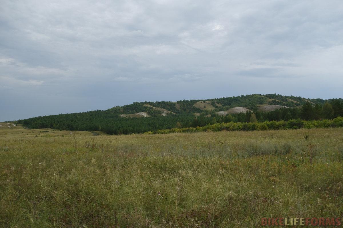 меловые горки, часть Хвалынского нац.парка