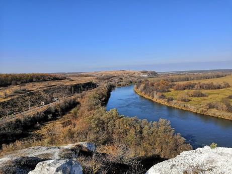 Осенний Дон и милые сердцу Сторожевое, Дивногорье и гора Шатрище