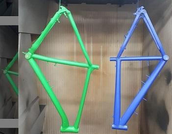 Покраска велосипедов в Москве