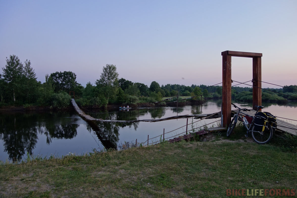 жуткий мостик в Жуковке