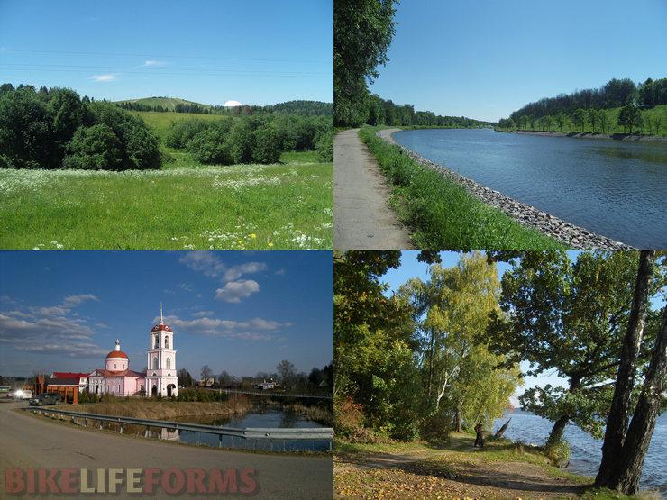 веломаршрут вдоль канала им. Москвы и водохранилищ