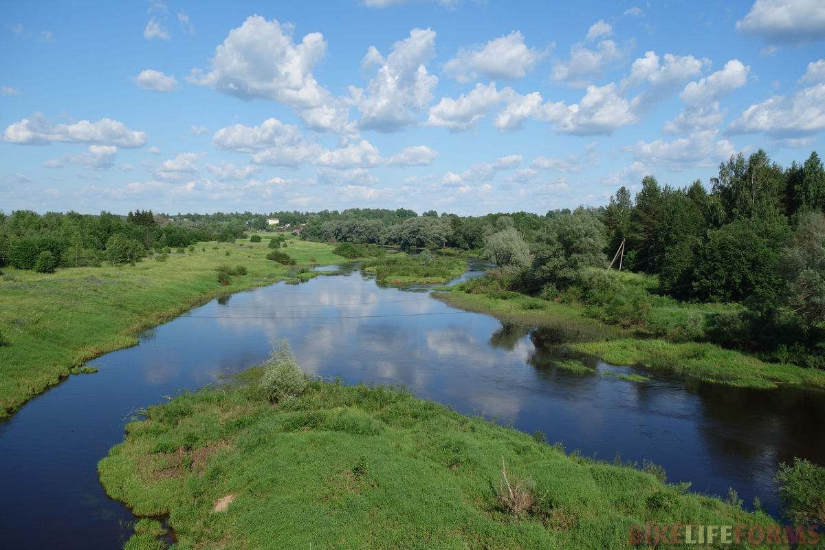 река Угра у Знаменки