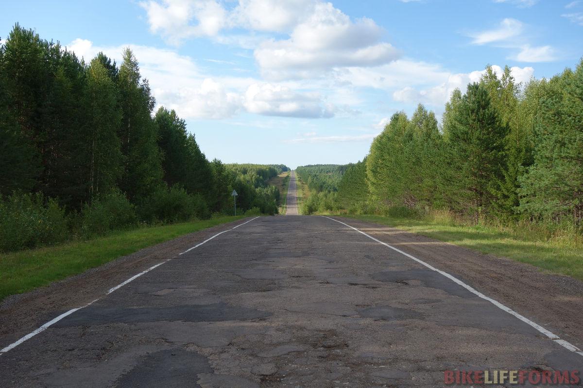 дорога на Уни