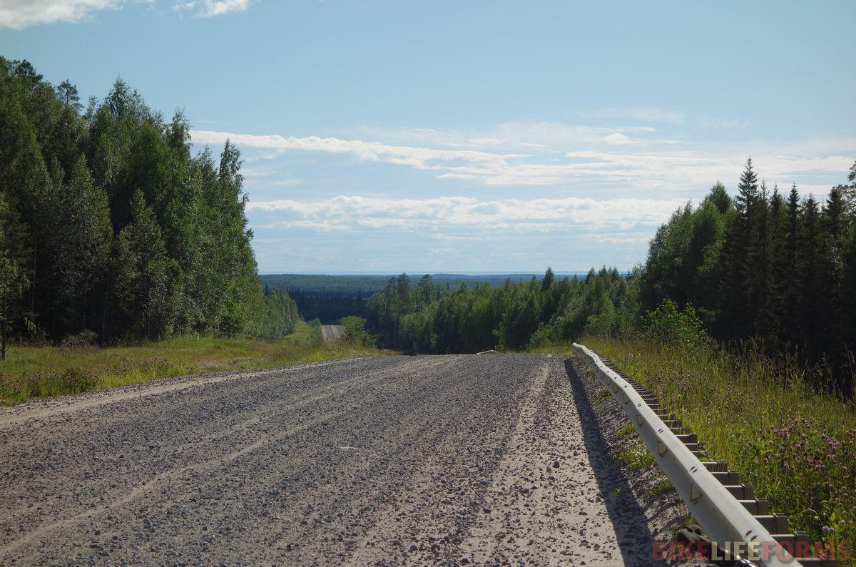 тряская дорога на Севородвинск