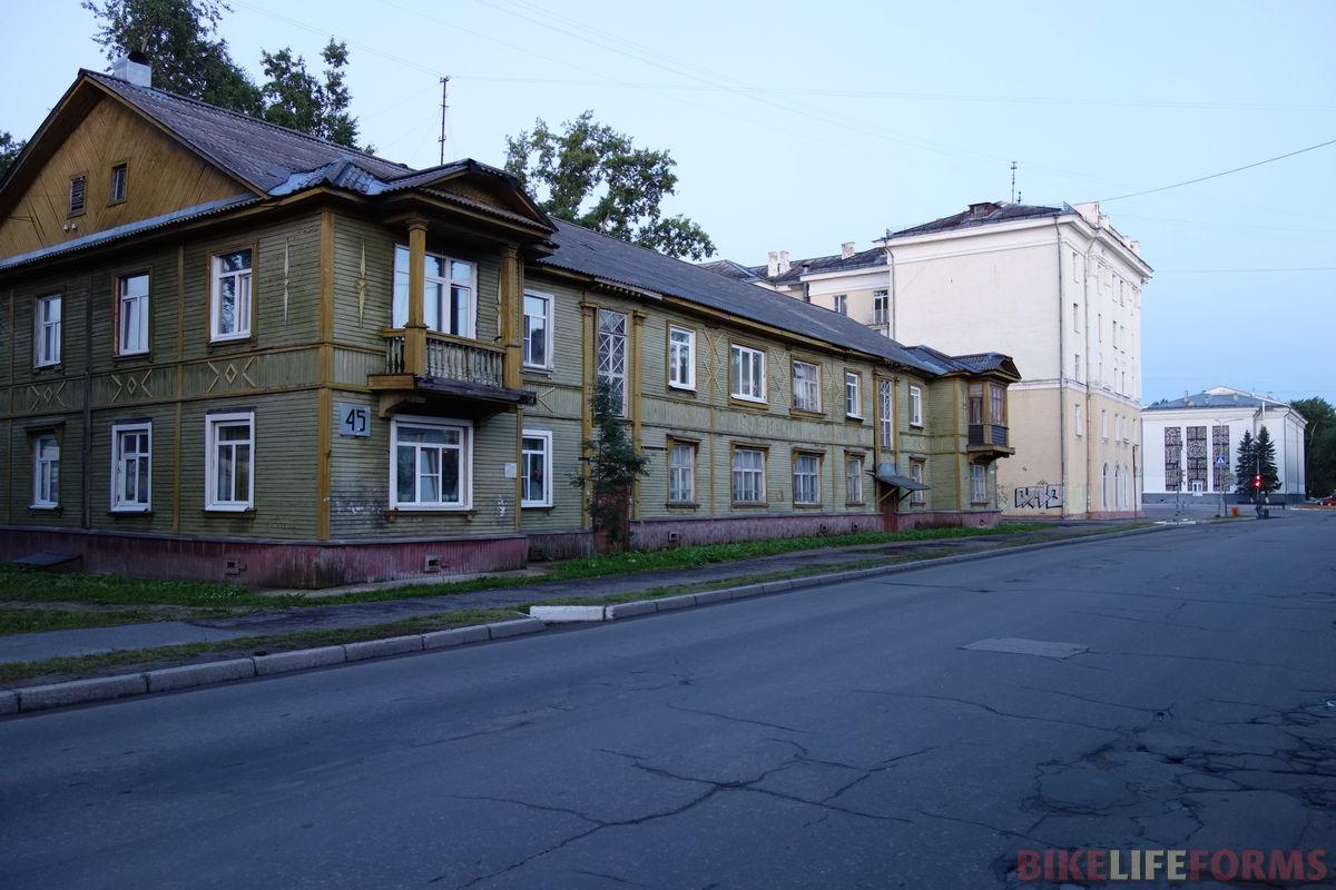 один из первых домов города