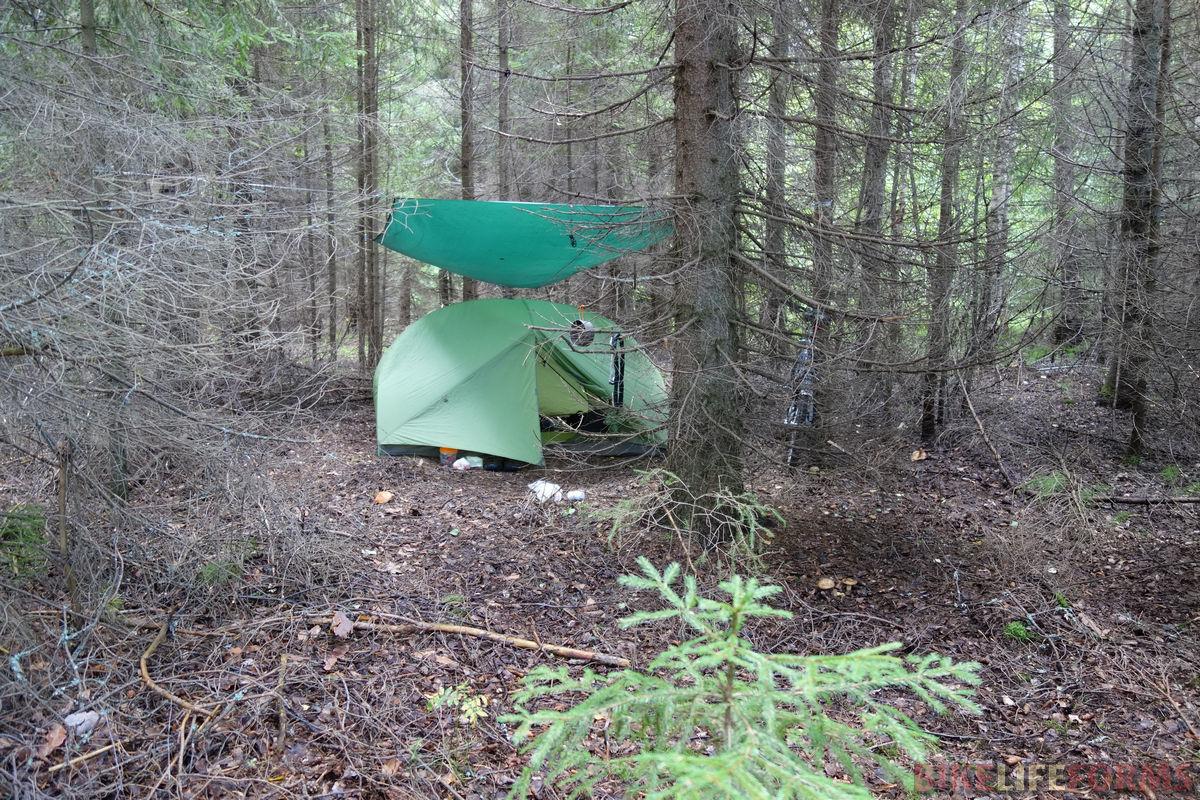 палатка MSR и навес