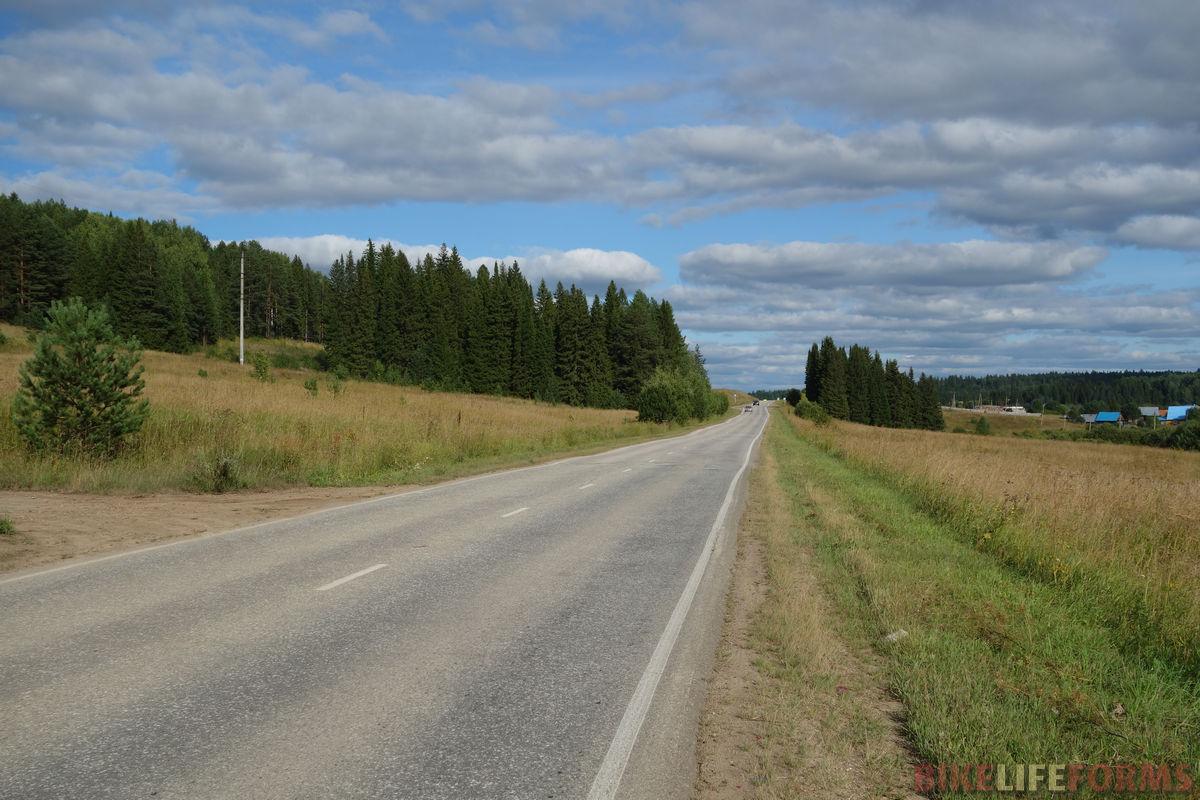 дорога в Мостовую