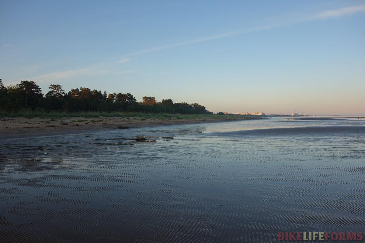 отлив у острова Ягры