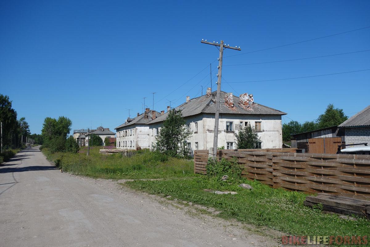 поселок Емца