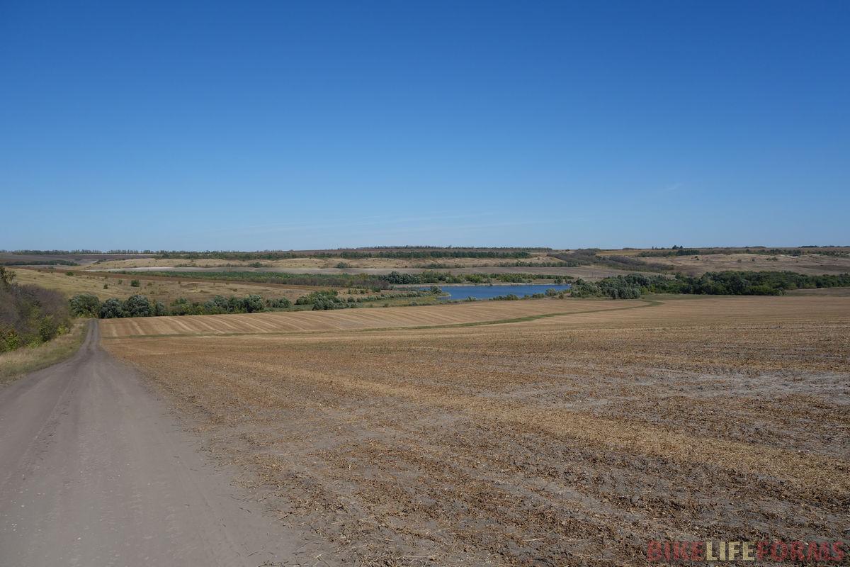 спуск к селу Айдар