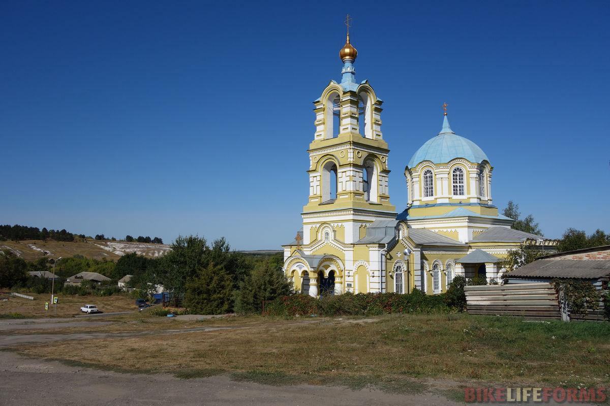 храм в селе Погромец