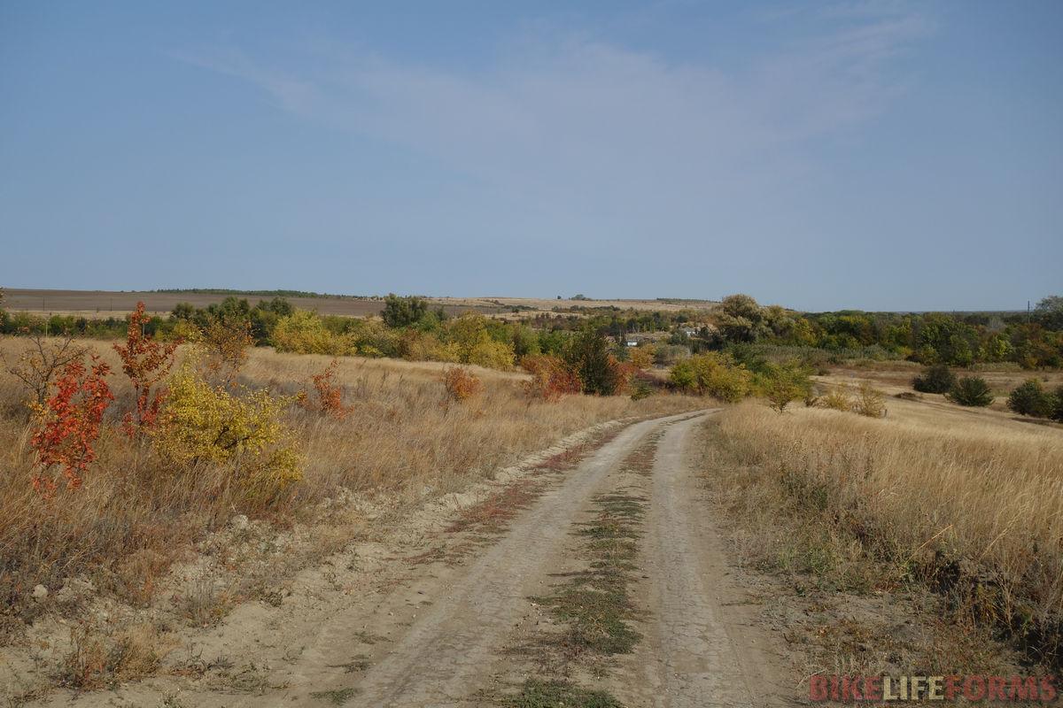 спуск к хутору Прыдки