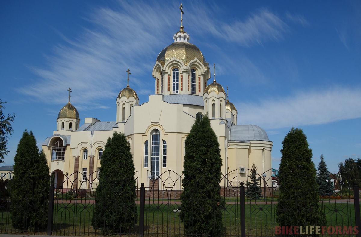 один из храмов г. Россошь