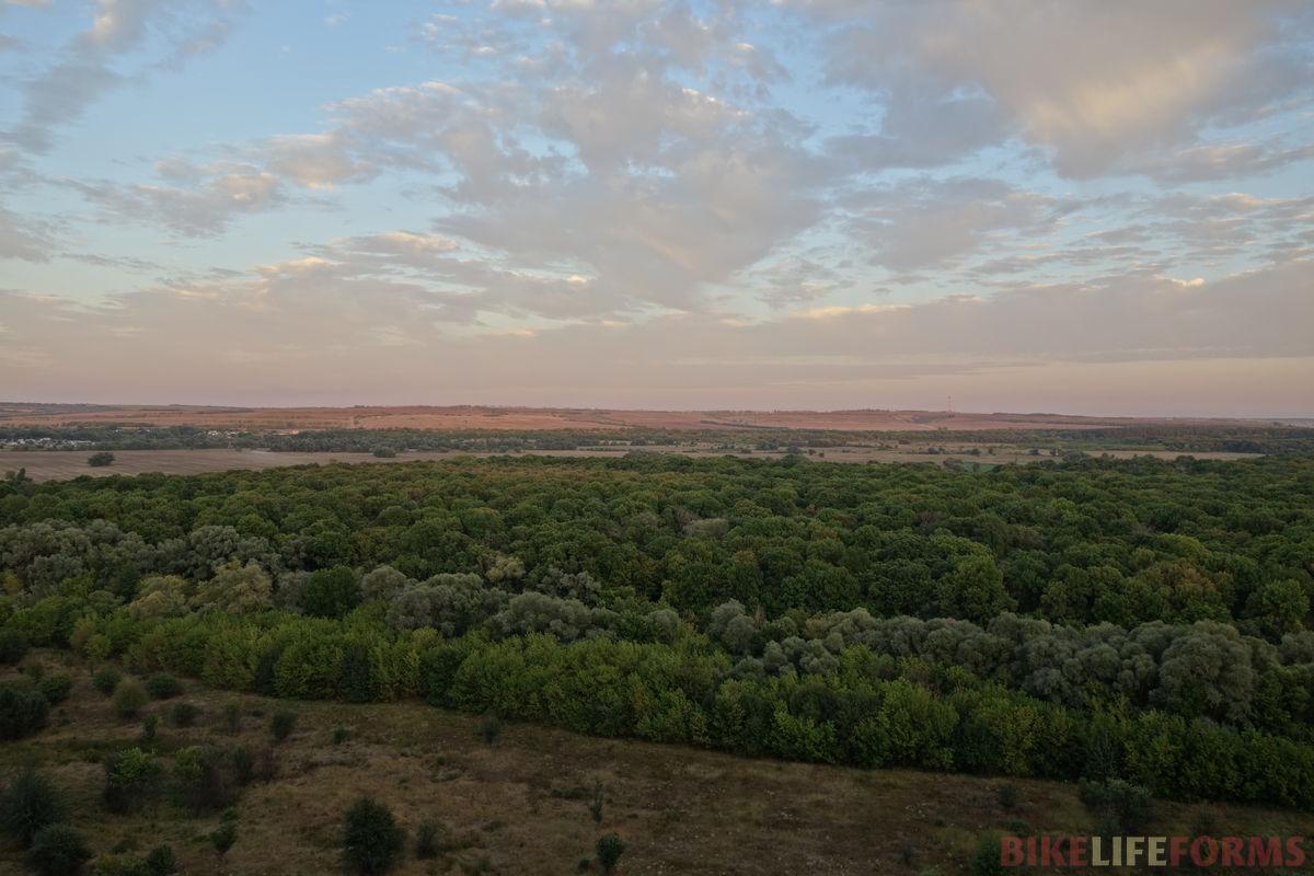 холмы у хутора Столбище